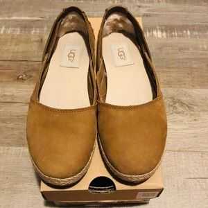UGG tippie flat moccasin - Chestnut - Size 6 - New